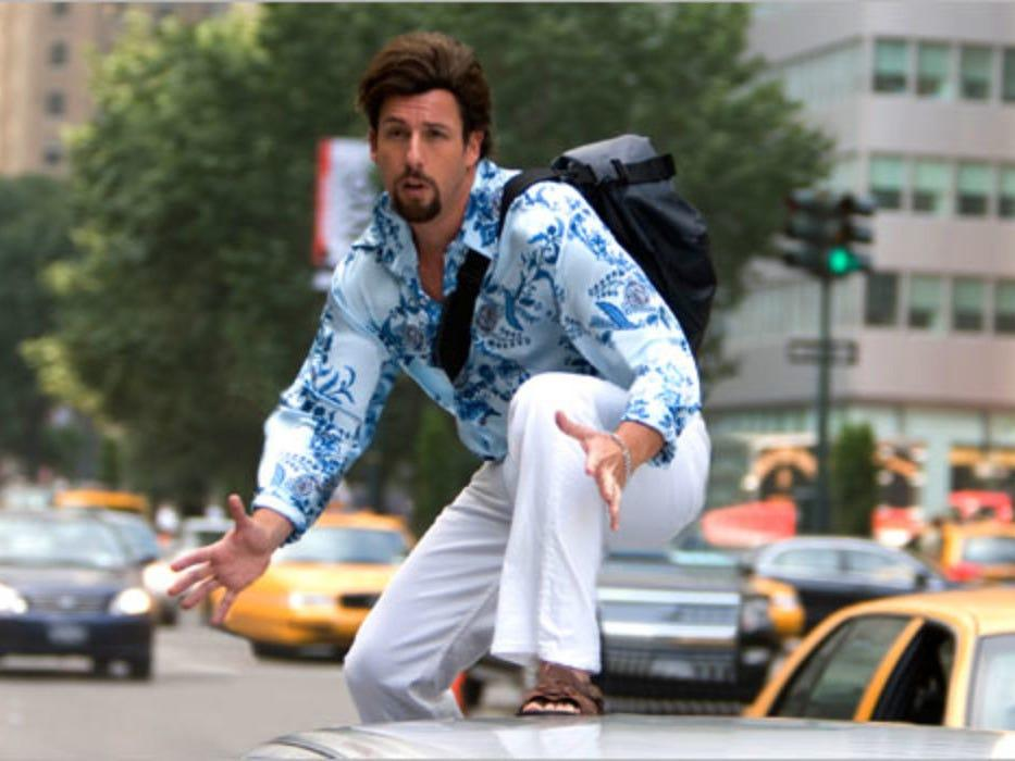 you dont mess with the zohan sony