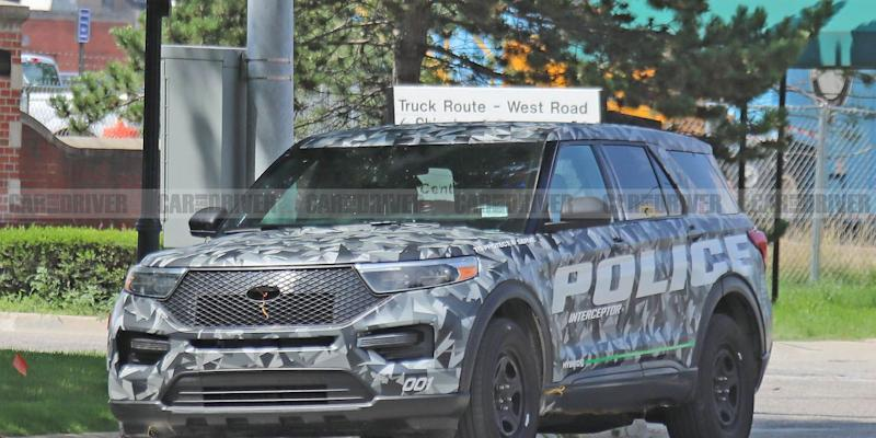 This Is The New 2020 Ford Explorer In Cop Car Form