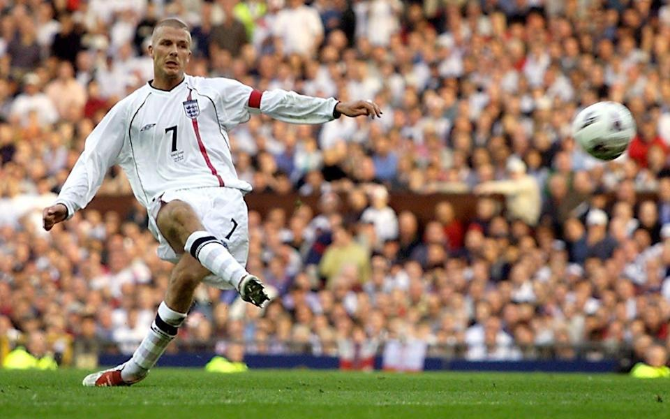 20 years since David Beckham's iconic free-kick - our writers pick their favourite England goals - REUTERS