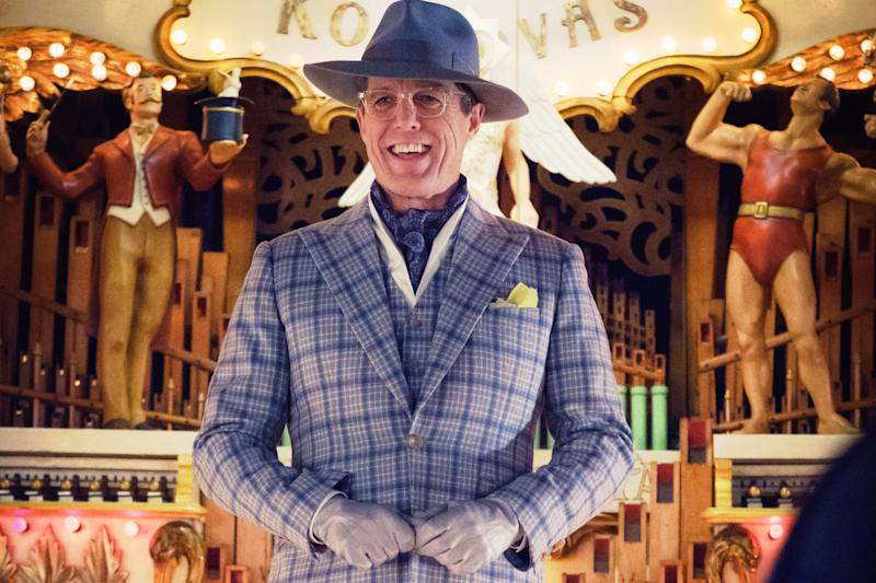Hugh Grant as Phoenix Buchanan in <i>Paddington 2</i>. (Studiocanal)