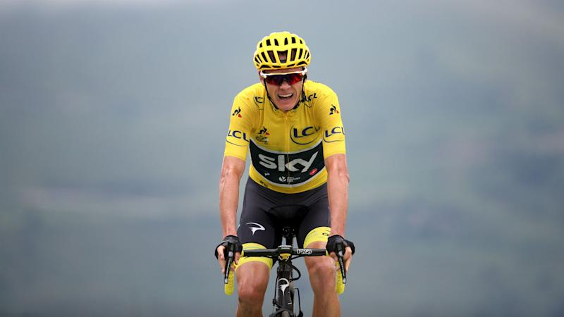 Tour de France 2017: Chris Froome battles back to stay in yellow