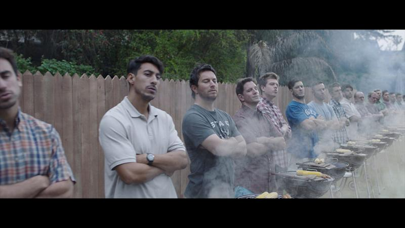 Gillette urged men to stand up to