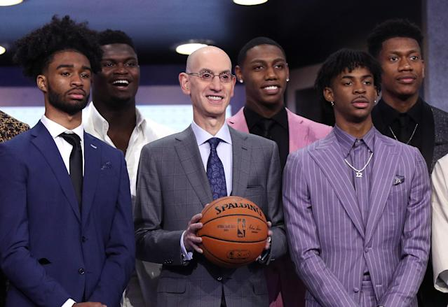 NBA rookies see several players from the 2019 draft having better careers than Zion Williamson. (Getty)