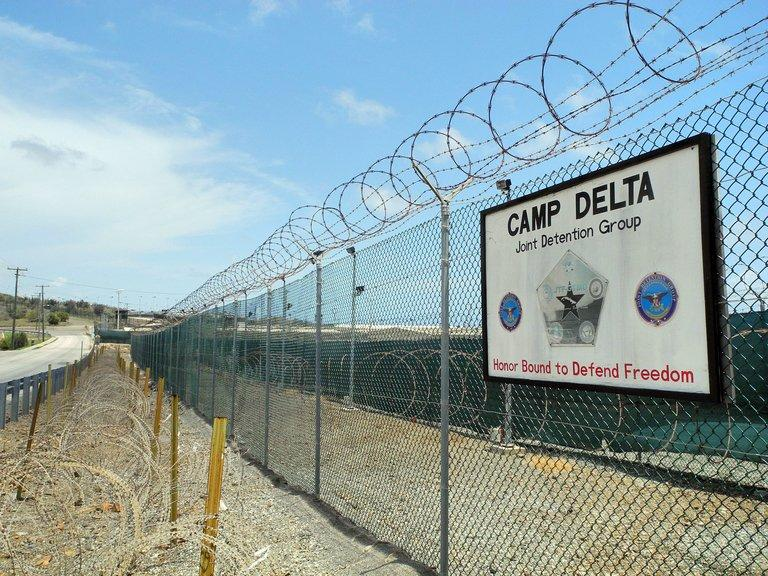 Camp Delta at the US Naval Base in Guantanamo Bay, Cuba on August 7, 2013