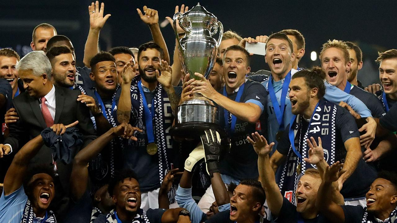 The New York Red Bulls were denied their first cup title by a Sporting side that continued its winning ways in championship games
