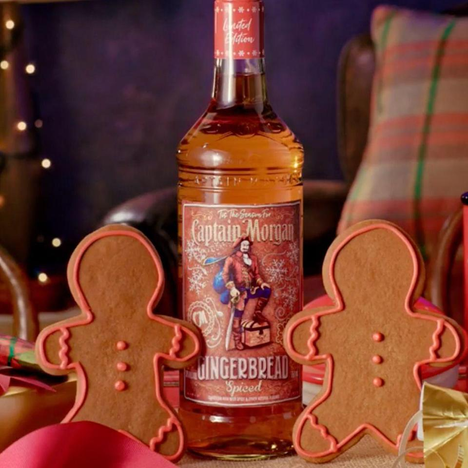 """<p><a class=""""link rapid-noclick-resp"""" href=""""https://www.totalwine.com/spirits/rum/flavored-rum/ginger/capt-morgan-gingerbread-rum/p/220239750-1"""" rel=""""nofollow noopener"""" target=""""_blank"""" data-ylk=""""slk:SHOP NOW"""">SHOP NOW</a></p><p><strong>Category:</strong> Spirits</p><p><strong>Release:</strong> October 2019</p><p>You're going to want all of your holiday drinks to be rum-based, thanks to Captain Morgan's new Gingerbread Spiced variety! The new rum flavor is limited-edition, so don't miss out on sipping it through the Christmas season.</p>"""