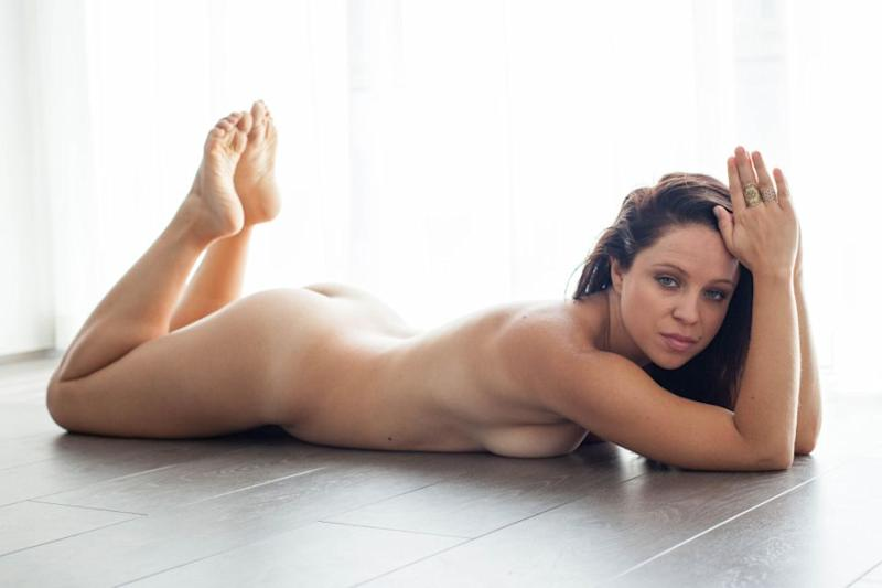 She was able to get more in touch with her body through the practice. Photo: Caters