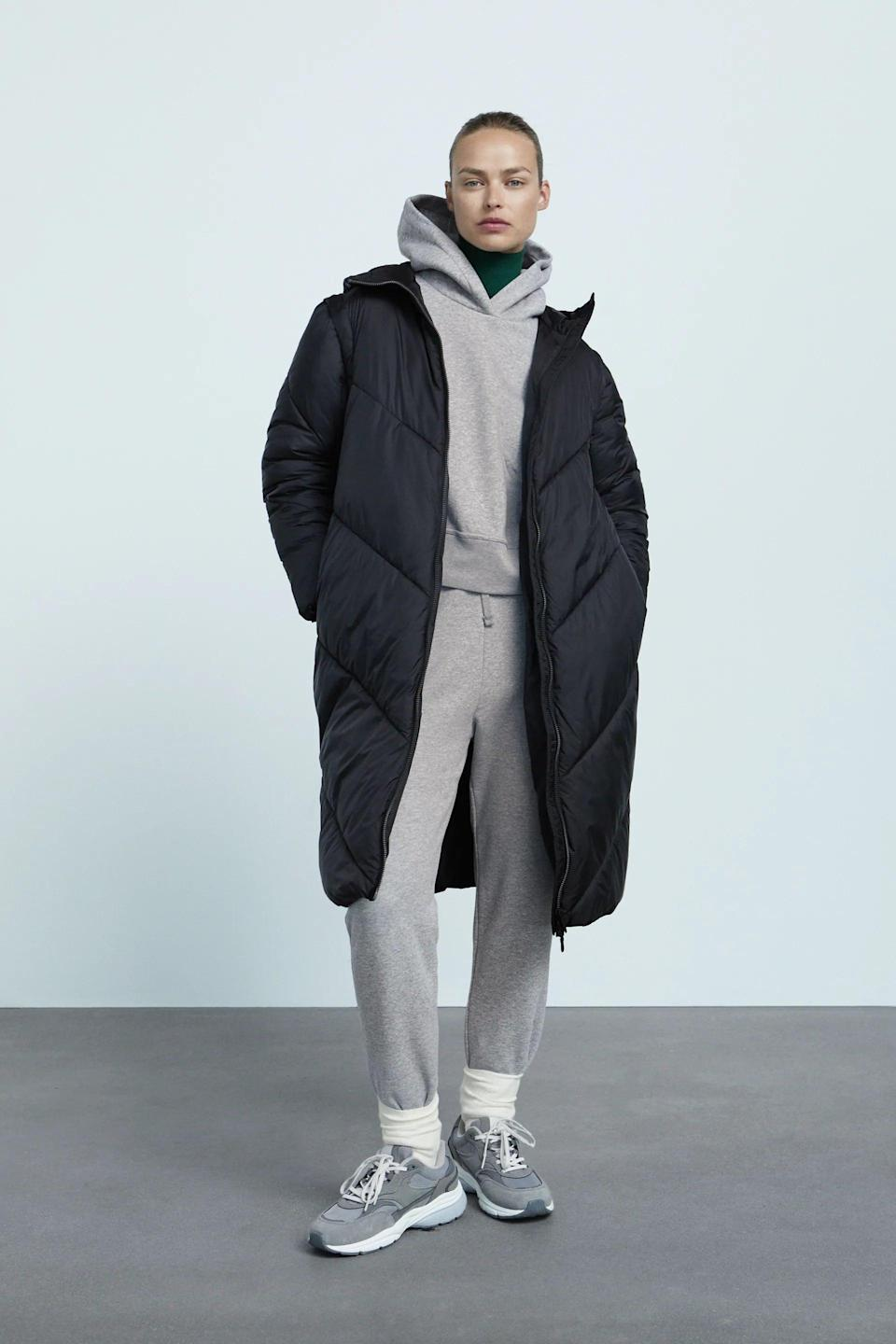 <p>This <span>Zara Water and Wind Protection Puffer Coat With Removable Sleeves</span> ($129) is what to reach for when it's really brutal outside. It also has removable sleeves, which is great for suspiciously warm winter days.</p>