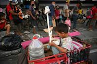Millions of families in the Philippines are going hungry, and charities are struggling to meet the ever-growing demand for food