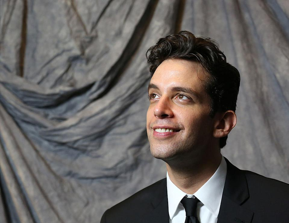 """Nick Cordero earned a Tony nomination for his role in """"Bullets Over Broadway"""" in 2014. (Photo: Walter McBride/Getty Images)"""