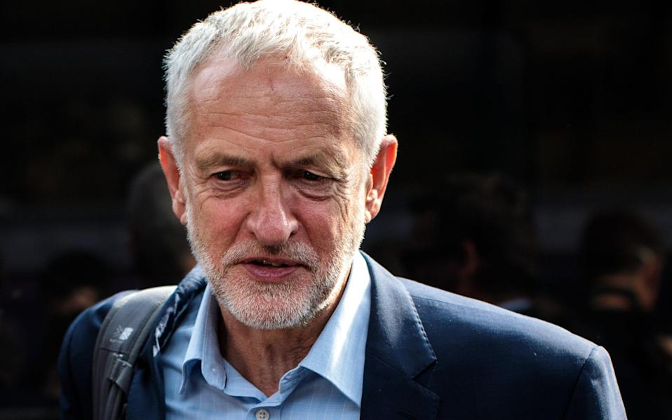 A US investment bank predicts there's a 31pc probability of a Corbyn government being elected as early as this year - Getty Images Europe
