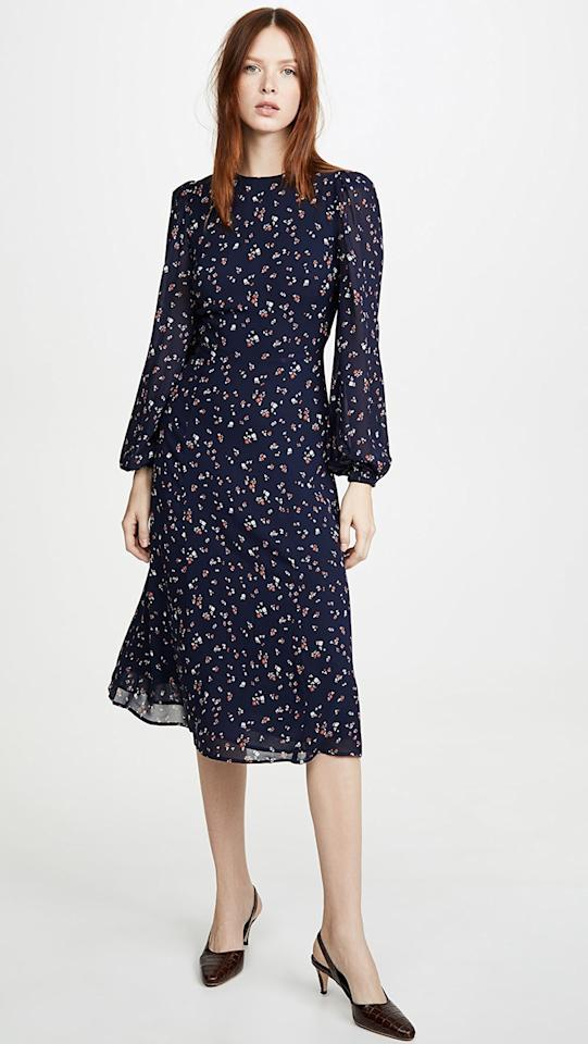 """<p>The <a href=""""https://www.popsugar.com/buy/Reformation-Luanne-Dress-539650?p_name=Reformation%20Luanne%20Dress&retailer=shopbop.com&pid=539650&price=124&evar1=fab%3Aus&evar9=45665202&evar98=https%3A%2F%2Fwww.popsugar.com%2Fphoto-gallery%2F45665202%2Fimage%2F47103246%2FReformation-Luanne-Dress&list1=shopping%2Cdresses%2Csale%2Cwinter%2Cwinter%20fashion%2Csale%20shopping%2Cbest%20of%202020&prop13=api&pdata=1"""" rel=""""nofollow"""" data-shoppable-link=""""1"""" target=""""_blank"""" class=""""ga-track"""" data-ga-category=""""Related"""" data-ga-label=""""https://www.shopbop.com/luanne-dress-reformation/vp/v=1/1583021630.htm?folderID=15412&amp;fm=other-shopbysize-viewall&amp;os=false&amp;colorId=17C9E&amp;ref=SB_PLP_NB_61"""" data-ga-action=""""In-Line Links"""">Reformation Luanne Dress</a> ($124, originally $248) is so versatile, you'll want to wear it to every occasion.</p>"""