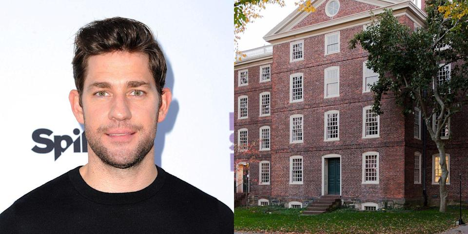 <p><strong>Brown University</strong></p><p>Krasinski planned to be an English major and deferred his first semester of college to teach English in Costa Rica. He then attended Brown University and graduated as a playwright with honors. </p>