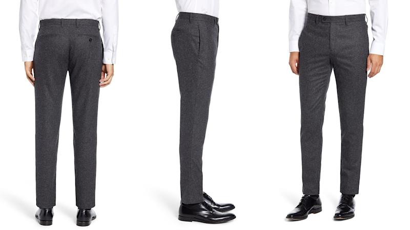 Upgrade your wardrobe with these sharp pants.