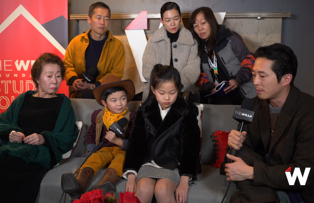'Minari' Director Shares the 'Poetic' Meaning Behind Immigrant Tale's Title (Video)