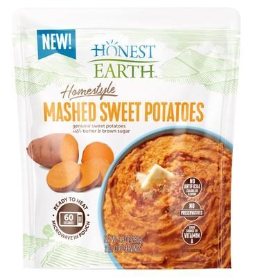 Honest Earth Mashed Sweet Potatoes (PRNewsfoto/Idahoan Foods)