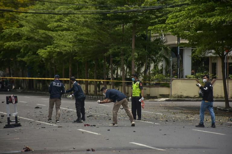Churches have been targeted in the past by extremists in Indonesia, the world's biggest Muslim-majority nation