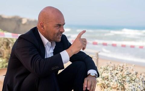 In the television series, Inspector Montalbano was played by actor Luca Zingaretti - Credit: RAI