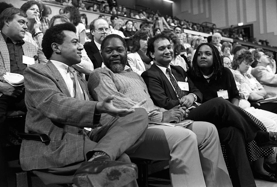 Paul Boateng, Bernie Grant, Keith Vaz and Diane Abbott. (Photo: PA)