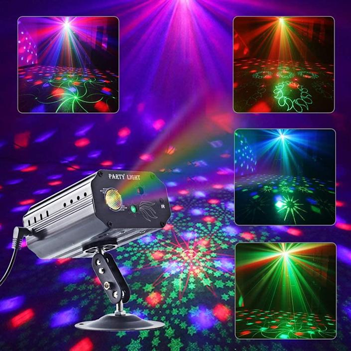 Chinly Party Lights DJ Disco Stage Laser Light, best christmas light projectors