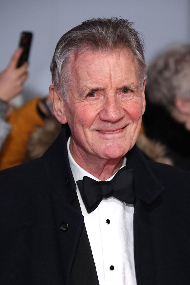 LONDON, ENGLAND - JANUARY 28: Sir Michael Palin attends the National Television Awards 2020 at The O2 Arena on January 28, 2020 in London, England. (Photo by Mike Marsland/WireImage)