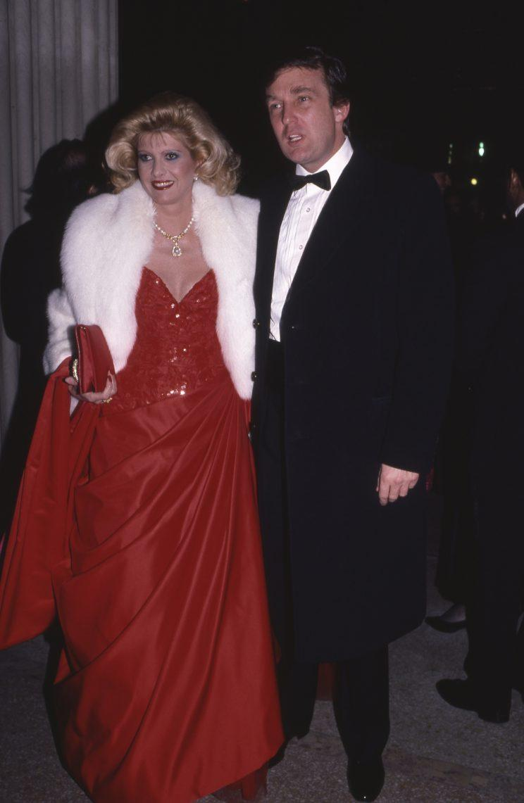 Just your typical date night! No, seriously -- they were actually at the 1986 Met Gala. (Photo: Sonia Moskowitz/Getty Images)