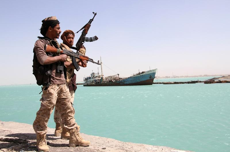 Pro-government forces control the Yemeni port town of Mokha