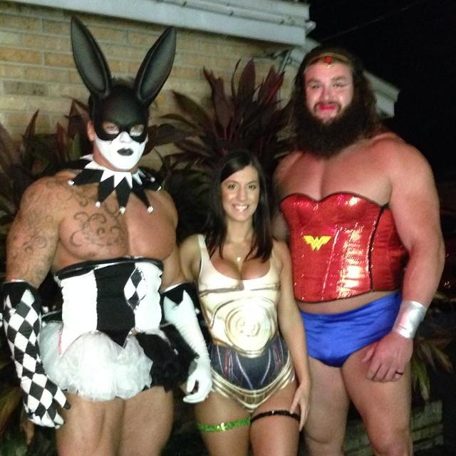 Braun Strowman as Wonder Woman