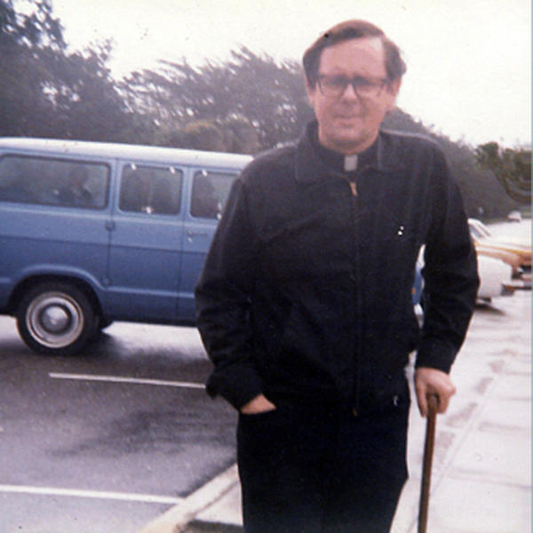 File-In this file photo provided by Debbie Lucas shows the Rev. Jerold Lindner in this undated photo during a camping trip to Northern California. William Lynch alleges that Lindner sexually abused him and his brother more than three decades ago on a similar Christian camping trip. Lynch is charged with assault for attacking the priest earlier this year and goes on trial Wednesday June 20,2012. (AP Photo/Courtesy of Debbie Lukas, File) NO SALES