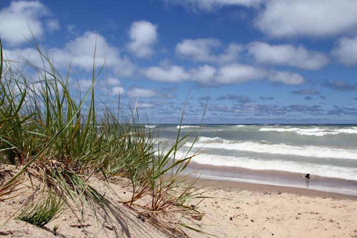 The Indiana Dunes National Park has launched a coronavirus safety campaign urging visitors to practice social distancing and other precautions when they hit the beach.
