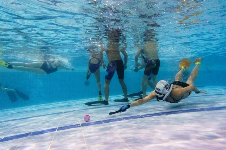 Underwater hockey was invented by British navy divers in the 1950s, but now has followers worldwide