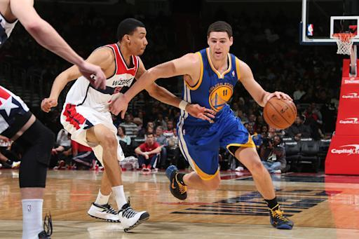 Warriors win 9th straight, defeat Wizards 112-96