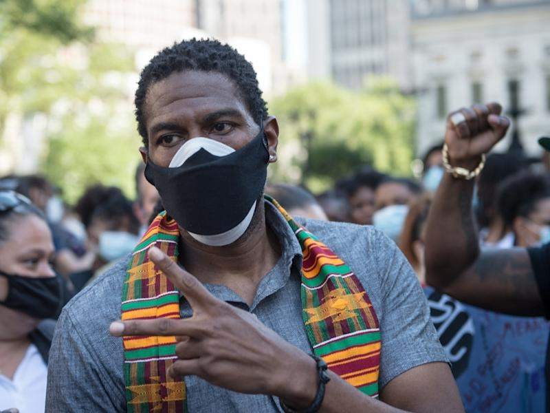 PA Jumaane Williams said he'll use his authority to scrap any budget that doesn't include a NYPD hiring freeze and shifts school safety.