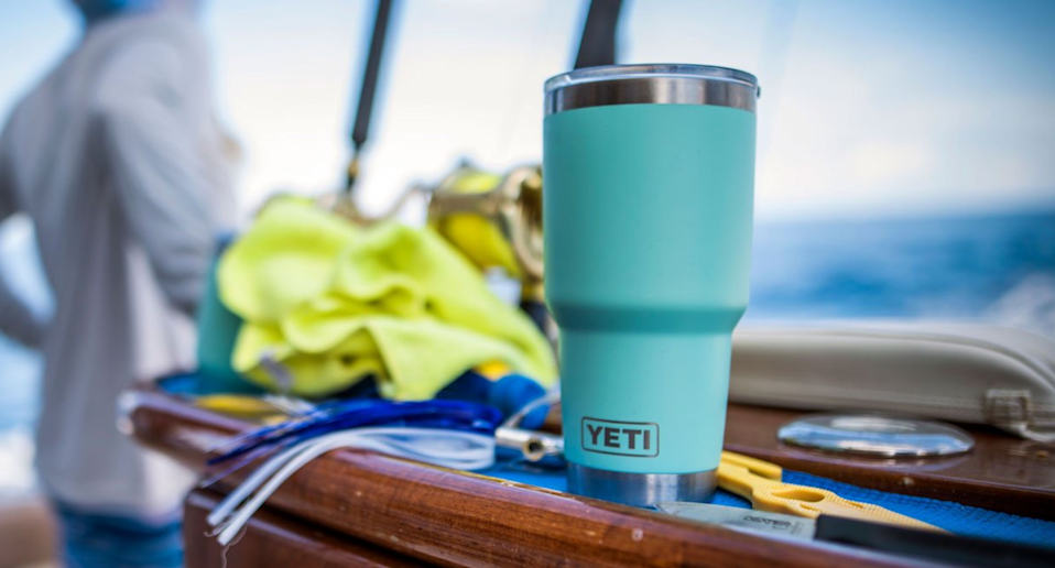 This $45 tumbler has earned a whopping 36,000 five-star reviews from shoppers. Image via Yeti.