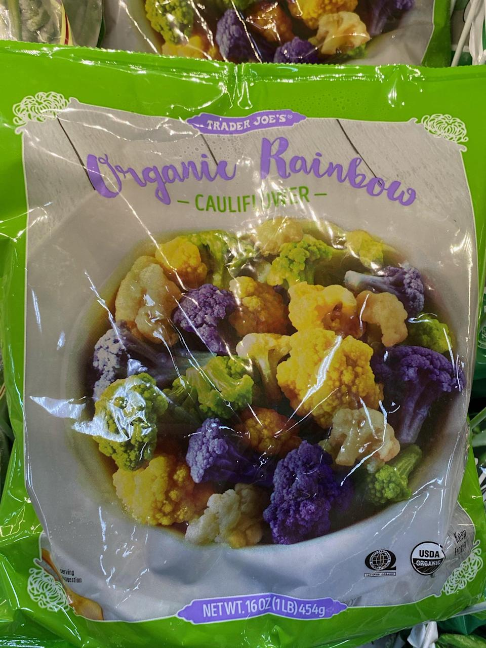 <p>Roasted rainbow cauliflower will look so gorgeous on your Thanksgiving dinner table. </p>