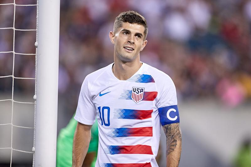 Christian Pulisic and the USMNT could open 2022 World Cup qualifying in Trinidad and Tobago, the same country in which their 2018 dream ended. (Robin Alam/Getty Images)