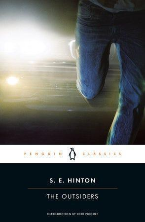 """""""The Outsiders,"""" by S.E. Hinton"""