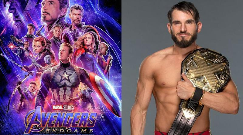 b27a65bc0 WWE Superstar (and Marvel Superfan) Johnny Gargano Reviews 'Perfect'  'Avengers: Endgame'