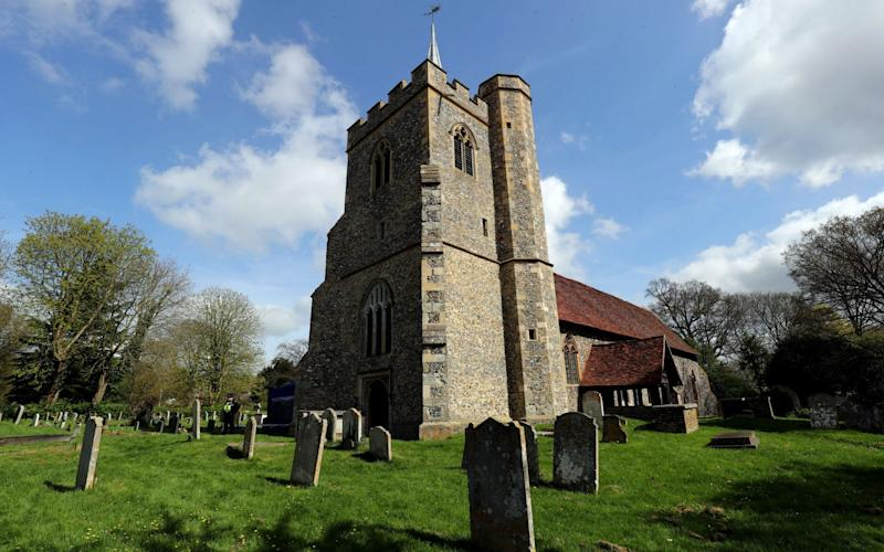 The church of St James in Stanstead Abbotts is only used four times a year - Credit: PA