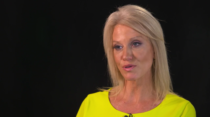 Kellyanne Conway, Trump campaign manager. (Photo: Yahoo News Video)