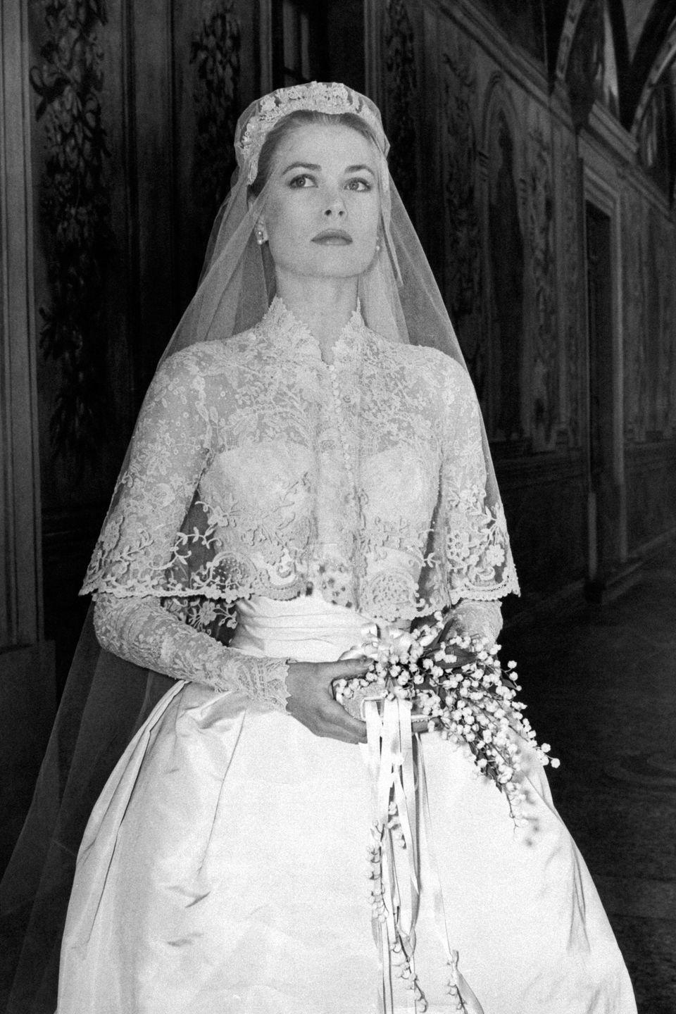 """<p>Devout mid-20th century brides often carried a Bible instead of lots of flowers, according to the <a href=""""http://www.philamuseum.org/collections/permanent/152527.html?mulR=317094392