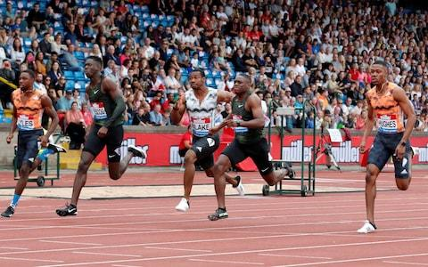 <span>Who will be crowned the latest 100m world champion?</span> <span>Credit: REUTERS </span>