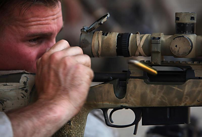 The Marine Corps Now Has the Lethal Mk 13 Mod 7 Sniper Rifle