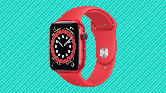 It's time to start tracking your fitness goals with the Apple Watch Series 6 — save $100! (Photo: Amazon)