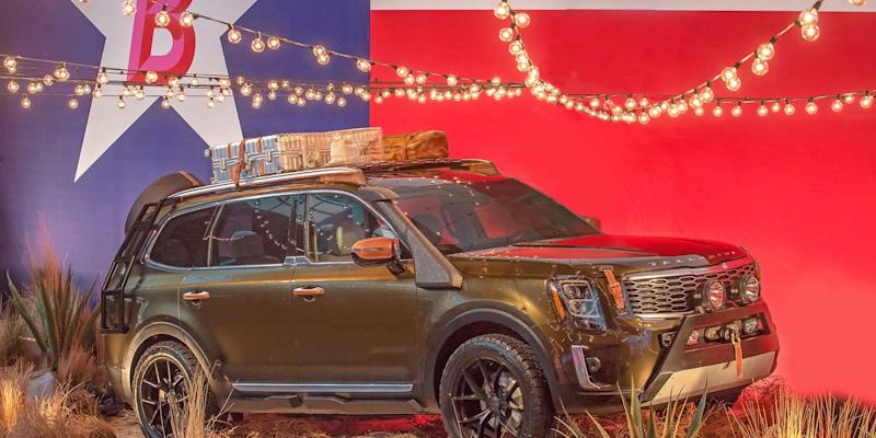 Kia Telluride Gets Customized Ahead Of Its Launch Early Next Year