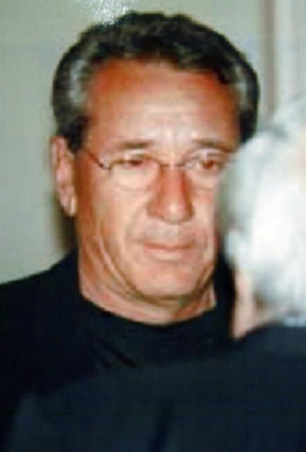This handout photo released in Rome by Italian police in 2005, shows the Vito Rizzuto. THE CANADIAN PRESS/files