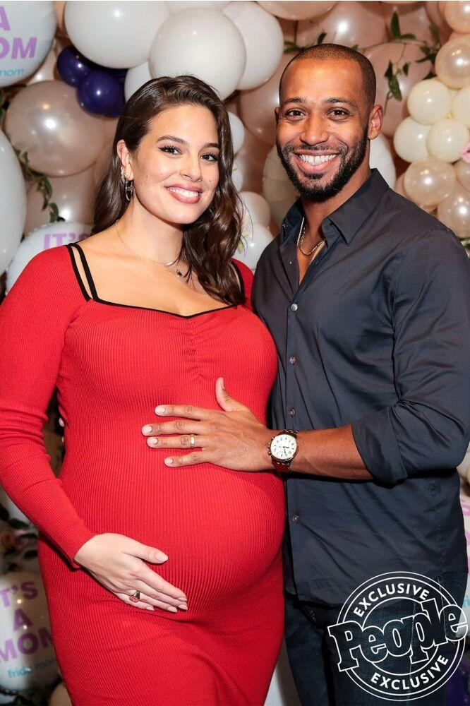 Ashley Graham and husband Justin Ervin | Kelly Taub/BFA