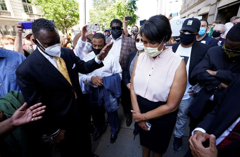 FILE PHOTO: Protests against racial inequality continue in Washington