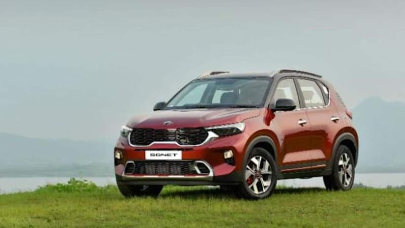 Prices of top-spec Kia Sonet GTX+ petrol and diesel revealed