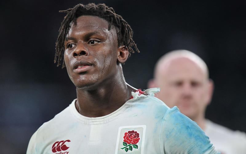 Will Maro Itoje be a Grand Slam winner this weekend? - Copyright (c) 2017 Rex Features. No use without permission.